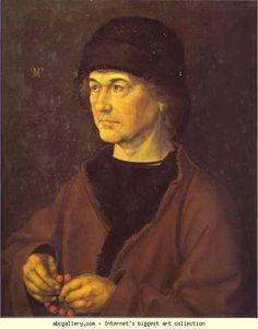 Albrecht Durer (1471-1528) Portrait of Durer's Father, 1490