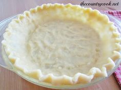 Wham Bam Pie Crust. Super simple pie crust!!! No cutting in butter, super chilled water or rolling it out!! Just mix it up & press it into the pan!