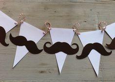 Mustache garland  - Guirnalda de mostachos