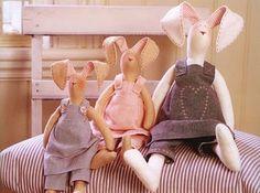 Muñecos Country: Tilda Conejo 2