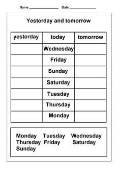 Preschool Worksheets Most Popular Preschool & Kindergarten Worksheets Top Worksheets Most Popular Math Worksheets Dice Worksheets Most Popular Preschool and Kindergarten Worksheets Kindergarten Worksheets Math Worksheets on Graph Paper Addition Wor. Calendar Worksheets, Calendar Activities, Spelling Worksheets, First Grade Worksheets, Free Printable Worksheets, Preschool Worksheets, Kindergarten Calendar, Calendar Skills, Back To School Worksheets