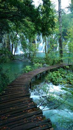 Plitvice lakes, croata...... & thats it on a rainy day