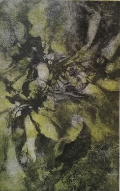 Available for sale, Vestige VII by South African artist Laurel Holmes, monotype on Fabriano paper size 35 x 50 cm unframed. South African Artists, Inspired, Paper, Prints, Artwork, Nature, Handmade, Painting, Work Of Art