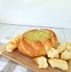 Simple Spinach Cobb Loaf 3