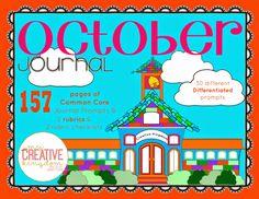 Kindergarten Castles: First Day of School Journal Freebie (OCTOBER)