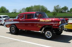 Cool Gasser! previous description: My dad's 57 chevy gasser found it on someone account on here!