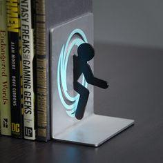 Portal Book Ends