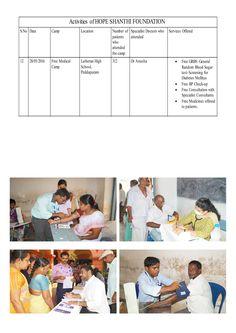 Free Medical Camp - Hope International Hospital (Hope Shanthi Foundation)