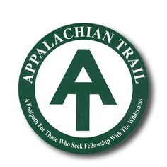 'Appalachian Trail ' Sticker by Monogram Decal, Appalachian Trail, Sticker Design, Long Sleeve Shirts, Finding Yourself, T Shirts For Women, Stickers, Logos, Flasks