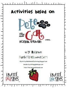 free activities based on pete the cat