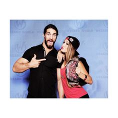 neth bellins manip ❤ liked on Polyvore featuring wwe couples
