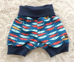 Handmade 3 months Euro size 62 baby shorts by NoNiMadewithlove