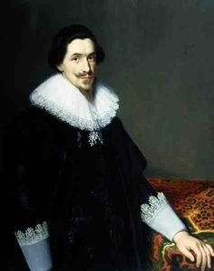 Portrait of Mr van Voorst by Paulus Moreelse