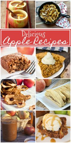 The Life of Jennifer Dawn: Delicious Apple Recipes for Fall and Weekly Link Party