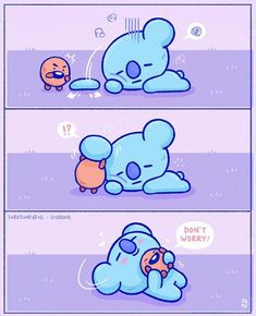 The Healer Shooky part 2; Don't think so hard, koya :* #BT21 editor IG @soresoar
