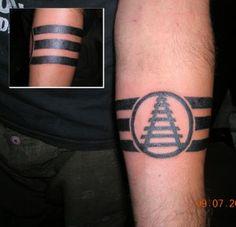 tatuagem, tattoos, Faixa, Listras, Pretas, riscas, significado, Fotos, Imagens, tatuagens