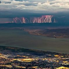 Tag your friends. @Nature fierce over Utah, photo by @billchurchphoto