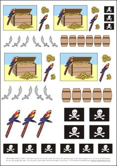 Free - pirates motifs