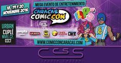 #ClaudiaCassani te invita para el #CaracasComicCon que se desarrollará en el salón #urbancuplé del Centro Comercial Ciudad Tamanaco #ccct Estaremos en el stand nro.90 - N1 Nivel Show los días viernes 18 sábado 19 y domingo 20 de Noviembre de 2016. Recuerda que puedes participar por dos (2) entradas para el #CaracasComicCon  Revisa nuestro perfil para enterarte de este fabuloso concurso  Pedidos vía web & whatsapp [ver perfil]