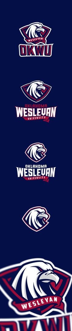 Oklahoma Wesleyan University on Behance - American Logo Sport Theme