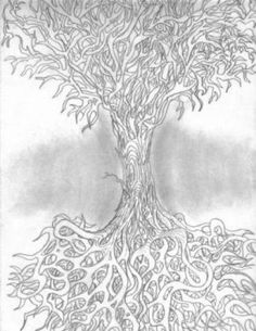 Abstract tree(pencil)