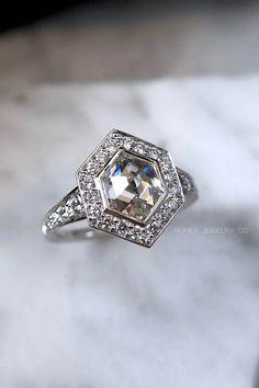 Watches, Parts & Accessories Reasonable Belle Époque Circa 1910 Antico Anello Diamanti Con Fidanzamento Platino