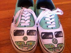 VW Bus handmade shoes