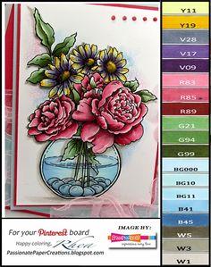Copic Marker Color Chart, Copic Marker Art, Copic Sketch Markers, Copic Pens, Copic Markers Tutorial, April Challenge, Copics, Prismacolor, Color Of The Day