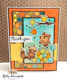 Stamps At Play: Thankful for Fall
