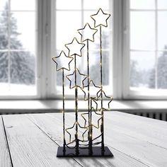 #homedecor #decoration #interiordesign #decor #christmas #christmasdecor #stars Bookends, Table Lamp, Lighting, Metal, Home Decor, Decoration, Christmas, Pink, Stars