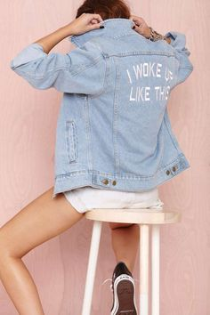 I Woke Up Like This Jacket