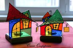 Stained Glass Houses!