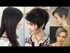 LADIES SHORT HAIR CUT VIDEOS 2017 💛 Short Haircut for Ladies - YouTube
