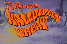 Cute or Death: Vintage Halloween Specials - Disney's Halloween Treat