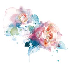 this would be an absolutely gorgeous tattoo! watercolor tattoo- needs more line work but love the colours