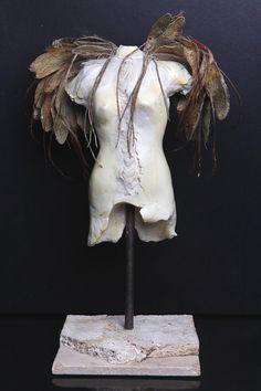 Angel Sculpture by fracturedangelicsart on Etsy, $225.00