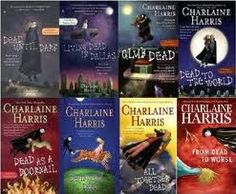 Sookie Stackhouse novels by Charlaine Harris.. sooo deliciously good