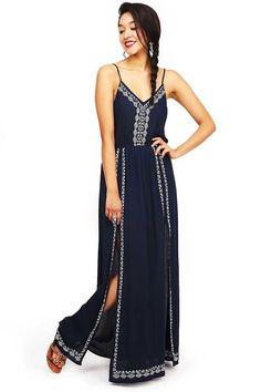 Charmed+Life+Maxi+Dress