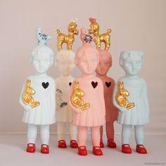 Ceramic Dolls van Lammers & Lammers at buitendelijntjes.com