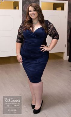 Real Curves for Valentina Illusion Dress