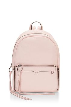 Lola Backpack - Accept it. You're too old for that schlubby canvas backpack. So swap it for this guy—it's your same old comfy and convenient bag, but in luxe, big-girl leather. Then there's little flower applique's on the front pocket because you'll never be too old for those.
