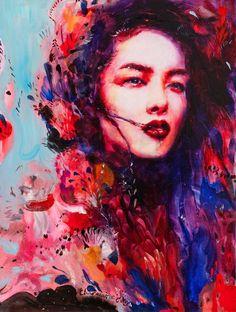 charmaine olivia paintings | Romantic Surrealist Ladies | Charmaine Olivia | Tutt'Art@ | Pittura ...