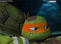 *gasp* noooo precious baby it will be okay shhhh. I Hug You, Ninjago Memes, Tmnt 2012, Teenage Mutant Ninja Turtles, Michelangelo, Fan Girl, Bff, Cartoons, Feels