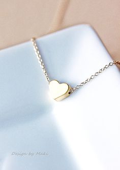 Simple Tiny Heart Necklace