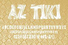 Check out AZ Tiki by Artistofdesign on Creative Market