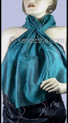 Two tone Pure Silk Stole