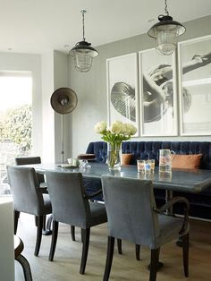 English townhouse with vintage touches | PUFIK. Beautiful Interiors. Online Magazine