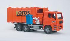 bruder orange garbage truck | other bruder pages bruder man side loading garbage truck orange bruder ...