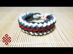 Sanctified with Endless Falls Stitching Paracord Bracelet Tutorial - YouTube