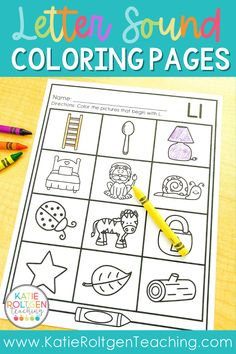 I love using these no-prep, printable beginning sounds coloring pages for my pre-k, kindergarten, and first grade classroom! Perfect for morning work, small groups, and literacy centers, students simply color the pictures that correspond with the specific letter sound they are working on. These 26 beginning sounds coloring pages are perfect for practicing foundational phonics skills such as letter recognition and letter sound recognition.